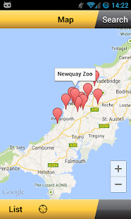 App for Cornwall - screenshot