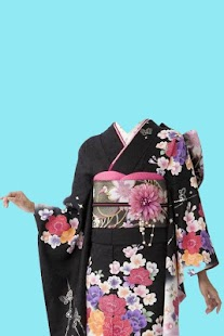 Kimono Photo Suit Maker - screenshot