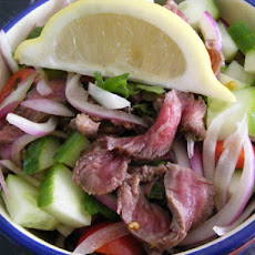 Beef, Mint & Cucumber Salad (21 Day Wonder Diet: Day 10)