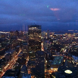 Beautiful view from the 52nd floor of the Prudential Building by Unknown - Landscapes Travel