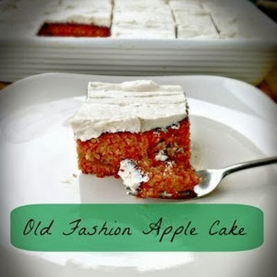 Old Fashion Apple Cake