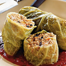 Julia Child Cabbage Stuffed With Leftover Turkey and Sausage
