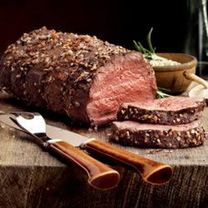 Roast Beef with Caramelized Onions