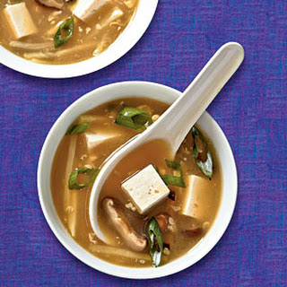 Hot and Sour Soup with Tofu