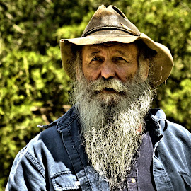 Bearded Man by Bob Buurman - People Portraits of Men (  )