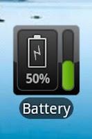Screenshot of Battery Watcher Widget