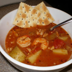 Saturday Night Manhattan Clam Chowder