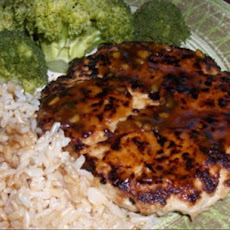 Teriyaki Chicken Burgers (Light)