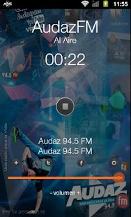 Audaz FM - screenshot