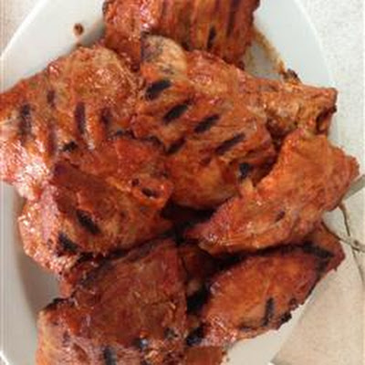 Barbequed Pork Ribs