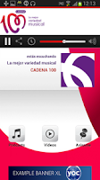 Screenshot of CADENA 100