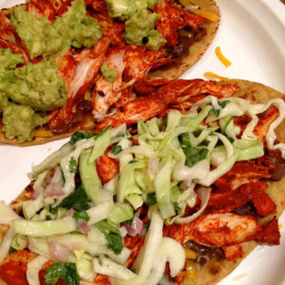 Chicken Tostadas from the Yucatán
