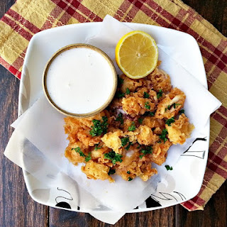 Buttermilk Fried Calamari with Lemon Aioli