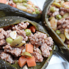 Chile Relleno (Poblano stuffed peppers)