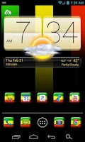 Screenshot of RASTA!!! ADW/Apex/Nova Theme