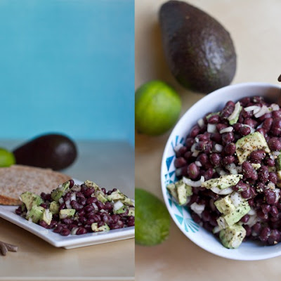 Easy Avocado-Lime Black Bean Salad