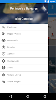 Screenshot of Tiempo METEO