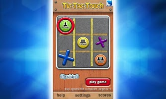 Screenshot of Tic-Tac-Touch