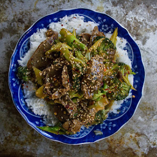 Sesame Glazed Beef and Broccoli
