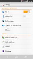 Screenshot of Xperia™ Color Pixel Theme