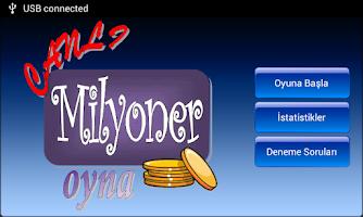Screenshot of Milyoner olmak ister misin?