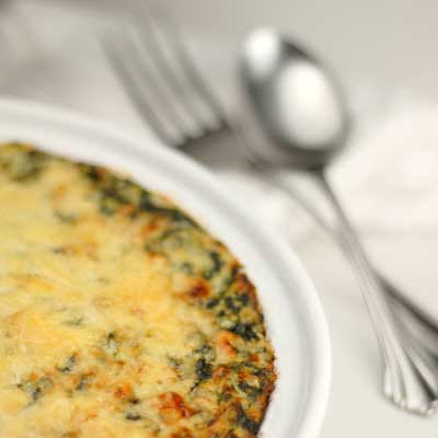 Gluten Free Thanksgiving – Creamed Spinach Gratin
