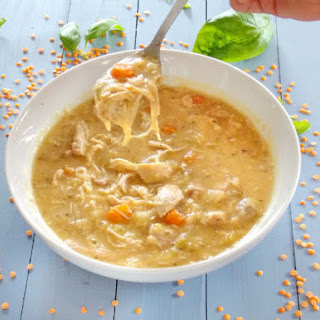 Chicken Noodle Lentil Soup Recipes