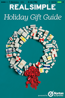 Screenshot of Real Simple Gift Guide