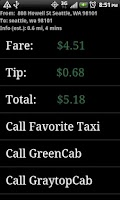 Screenshot of TaxiVeni Free