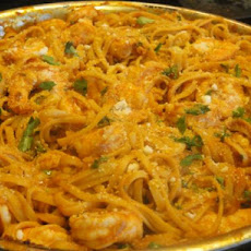 Shrimp and Linguine Fra Diavolo by Emeril