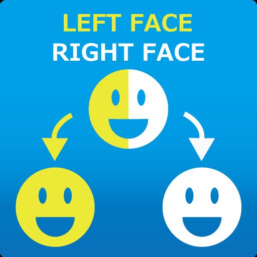 Left Face & Right Face LOGO-APP點子