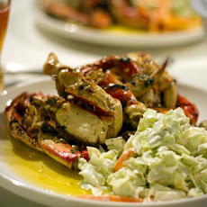 Oven-Roasted Dungeness Crab