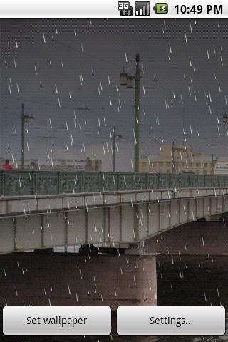 Rain 2 Live Wallpaper