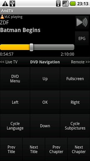 andtv for android screenshot