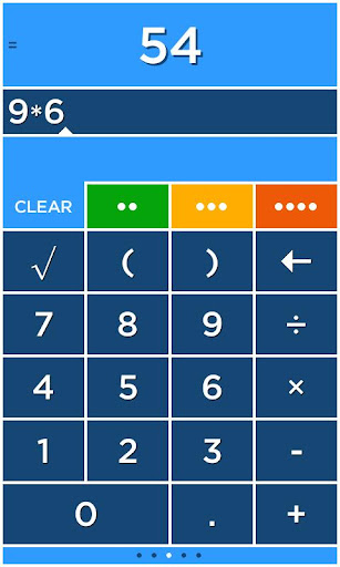 Solve - A colorful calculator