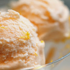 Melon-Orange Blossom Gelato