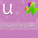 GO Launcher Elegant Pink Theme icon