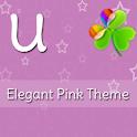 GO Launcher Elegant Pink Theme