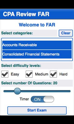 CPA Review - FAR