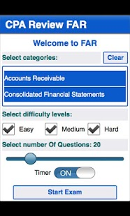 CPA Review - FAR - screenshot
