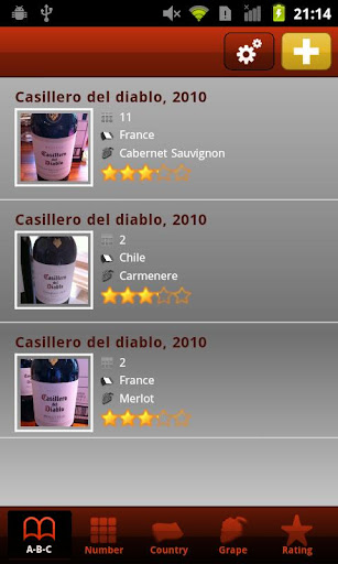 Wine Organizer Pro