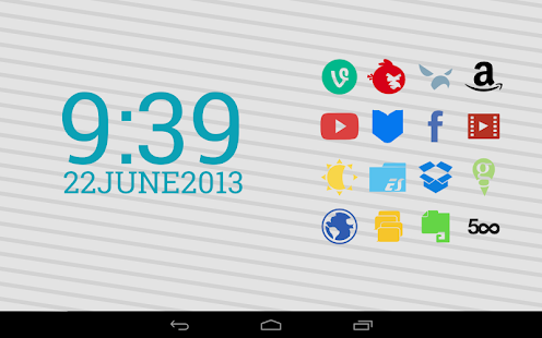 Stamped Icons APK for Blackberry