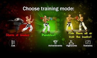 Screenshot of Fight Trainer