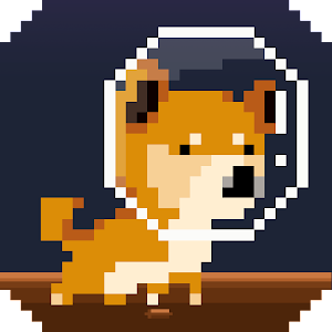 Cover art Puppy moon: Dogstronaut