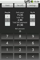 Screenshot of EZ Tip Calculator Free