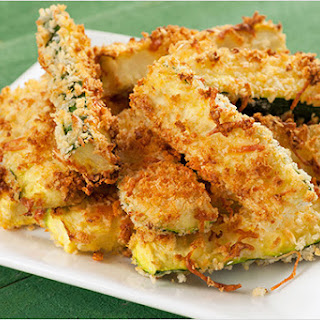 Crunchy Oven-Fried Zucchini Sticks