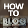 How To Blog icon