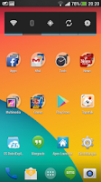 Screenshot of KitKat HD - Apex Theme