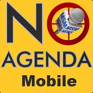 Cover art No Agenda Mobile