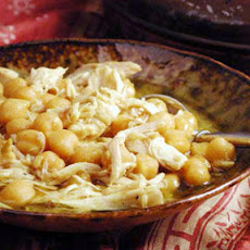 Ferakh bel Hummus (Chicken with Chickpeas)